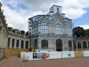 Wallpavillion, Dresdner Zwinger