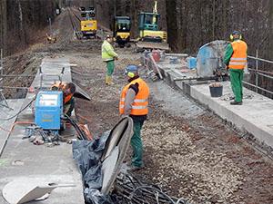 Brückensanierung Polenztalbrücke, Neustadt in Sachsen