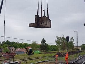 Brückensanierung Haltepunkt Dresden-Plauen