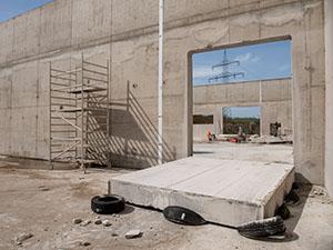 Umbau Neue Produktionshalle Fa. DAS, Dresden